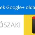 Kövessétek a Google+ oldalunkat is!