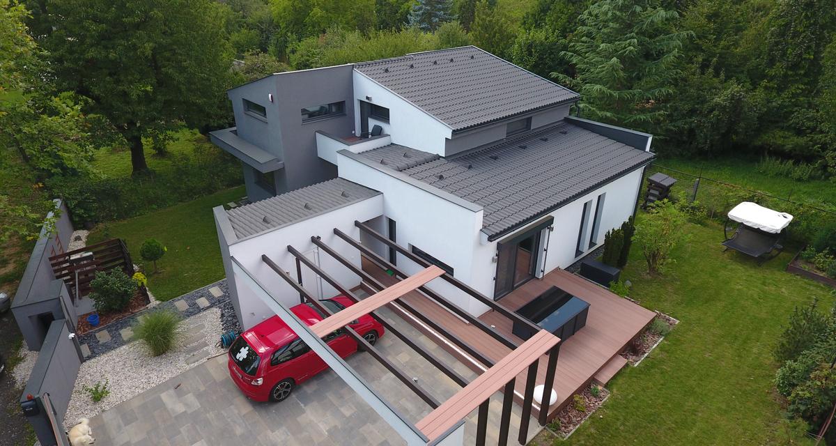 A lapostető és a betoncserép az új trend