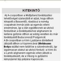 Napi baki (a Nemzeti Sport kitekint...)