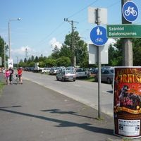 Az ország legrövidebb bicikliútja...