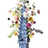 Hétfő: művtöri - virágpiramisok