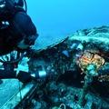 A Stuka lágyan szállt a tengermélybe