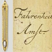 A hőmérőt Fahrenheit megjelölte