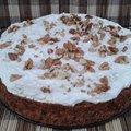 Heti recept: Diós-narancsos sütőtöktorta