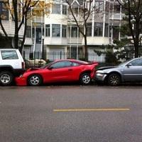 Parkolás fail