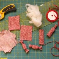 Diétás szaloncukor - Készítsünk szaloncukrot , textilből!