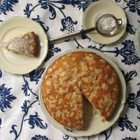 Tokaji aszús mandulás torta