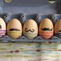 Hetyke bajszos tojásokat húsvétra!