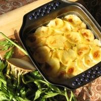 Zelleres krémes krumpligratin recept