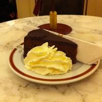 Sacher torta Bécsben