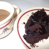 Tej és tojásmentes saját levében sült csokitorta