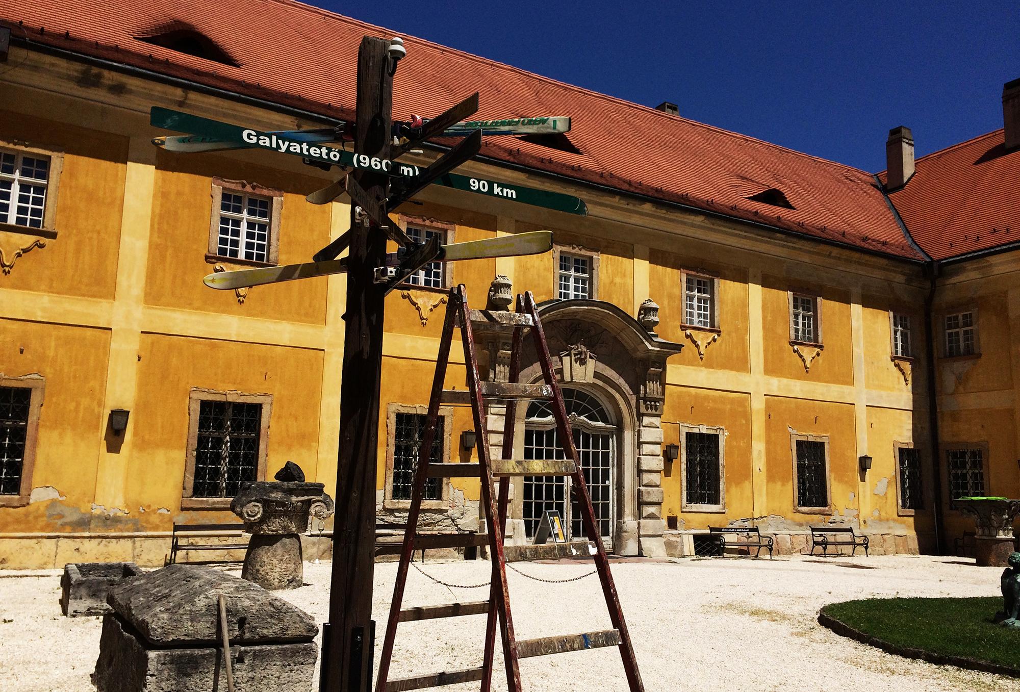 Új helyén, a Kiscelli Múzeumban<br />Fotó forrása: Átrium