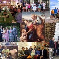 Szent Család és újévi áldás