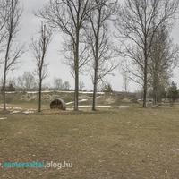 Elhagyott szovjet lőszerraktár