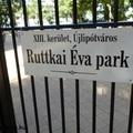 A Ruttkai Éva park