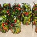 Kései zöldségek tartósítása