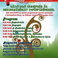 Madarak és Fák Napja Pályázat - Díjátadó ünnepség, programok