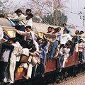Vonatszerencsétlenség Indiánál