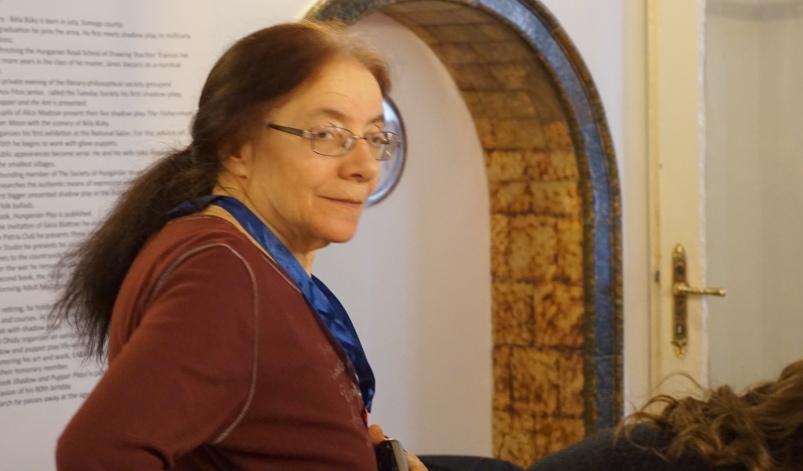 Tömöry Márta bábművész, író, rendező