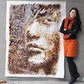 Hihetetlen kávé portrék - avagy hogy fest a kávé a papíron