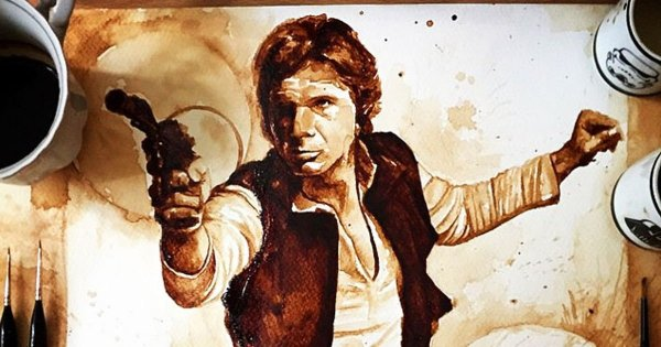 Han Solo portre