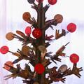 Adventi naptár az öko-karácsonyfából