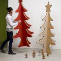 Karton karácsonyfák