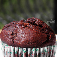 Kakaós-csokis-banános muffin