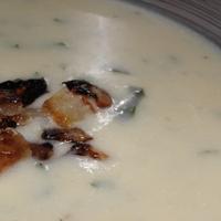 Sültkaralábé-leves rozmaringgal