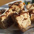 Almás-diós-vaníliás kevert süti