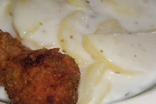 Egyszerű krumplifőzelék