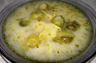 Kelbimbó leves vajas galuskával