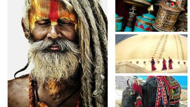 Nepál - a színes imazászlókon túl