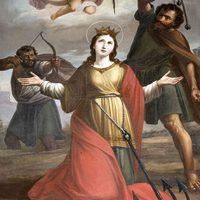 2017. július 24. Szent Jakab apostol vigíliája, Szent Krisztina szűz és vértanú (+304.)