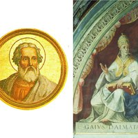 2017. április 22. Szent Szótér és Kájusz pápák és vértanúk