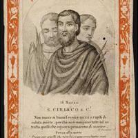 2017. augusztus 8. Szent Cirjék, Largus és Smaragdus vértanúk (+ 305 k.)