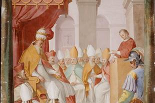 2017. november 12. Szent I. Márton pápa és vértanú