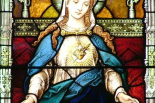 2017. augusztus 22. Boldogságos Szűz Mária Szeplőtelen Szívének ünnepe