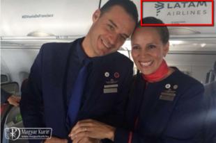 """A LATAM légitársaság reklámfogása Ferenc pápa """"repülős"""" esküvője?"""