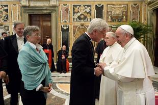 """A pápa """"hálás Istennek"""" a Luther Mártonról tartott vatikáni konferenciáért"""