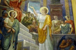 2017. szeptember 26. Szent Ciprián és Jusztina szűz vértanúk
