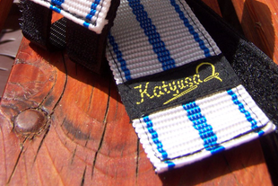 Kék csíkos strap