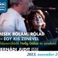 Mesék rólam, rólad - egy kis zenével - Hernádi Judit estje