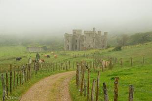 Szellemkastély a ködben