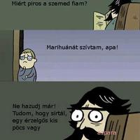 Szigorú apuka :)