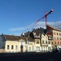 Egyszer volt... lebontották a Váci út 121-129. házait.