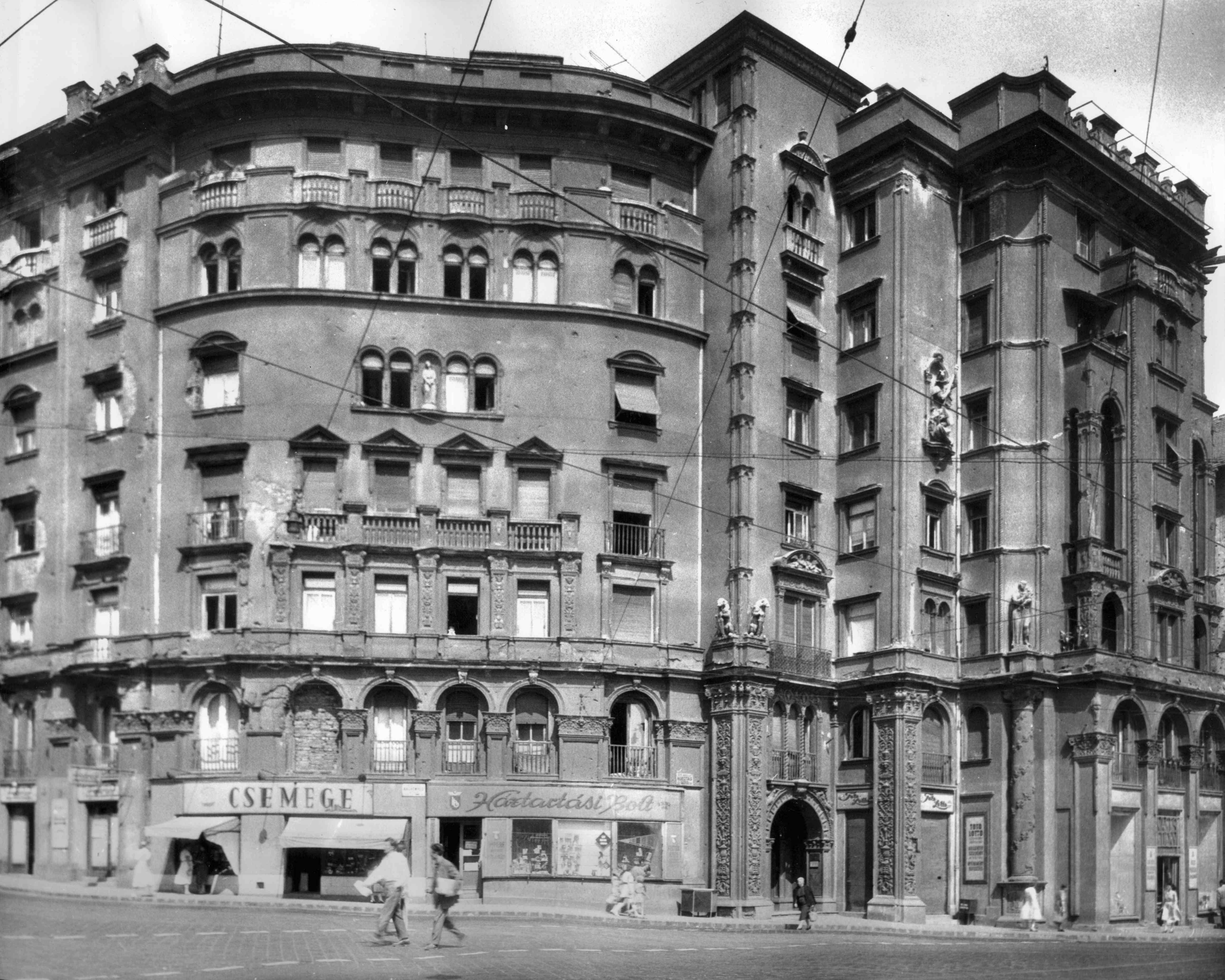 Forrás: Fortepan / Budapest Főváros Levéltára. <br />Levéltári jelzet: HU_BFL_XV_19_c_11<br />Ez és az utána következő pár kép 1960 körül készült.