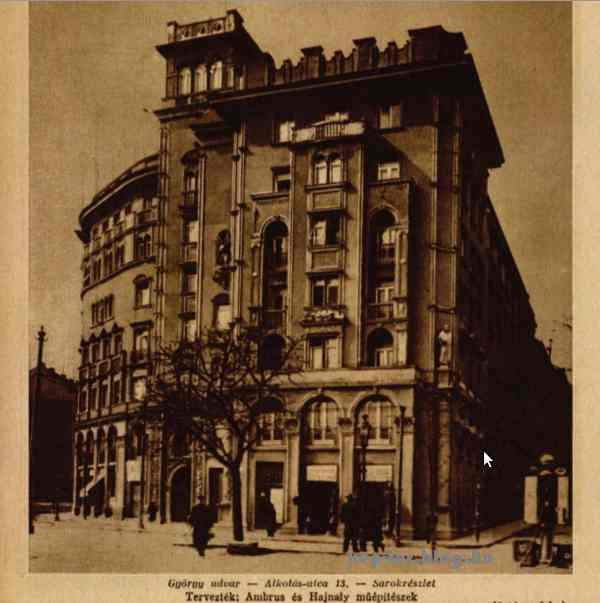 Forrás: Színházi élet, 1930/04.<br />Az épületfotókat Seidner Zoltán készítette.