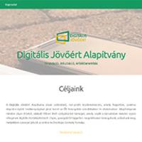 Digitális jövő a digitális jólétért