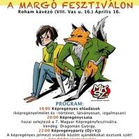 Képregényest a Margó Fesztiválon, 2011. április 16.